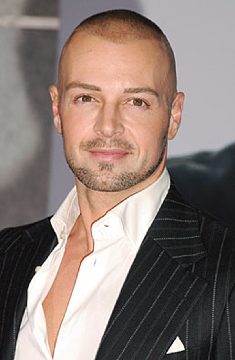 """Joey Lawrence arrives to the Los Angeles Premiere of """"Old Dogs"""" held at the El Capitan Theatre on November 9, 2009 in Hollywood, California."""