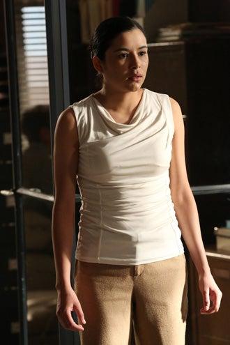 "The Bridge - Season 1 - ""Calaca"" - Emily Rios as Adriana Mendez"
