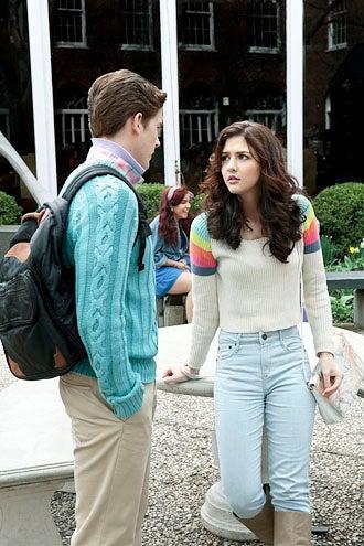 "The Carrie Diaries - Season 1 - ""Pilot"" - Brendan Dooling and Katie Findlay"