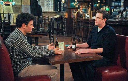 "How I Met Your Mother - Season 7 - ""No Pressure"" - Josh Radnor, Jason Segel"