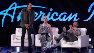 Katy Perry Ripped Her Pants and Showed Everyone Her Butt on American Idol