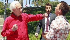 Exclusive: Bob Barker Packs a Punch in Happy Gilmore Homage on Bold and the Beautiful