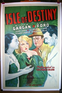 Isle of Destiny as 'Stripes' Thornton