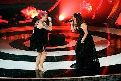 "Duets - Season 1 - ""Songs That Inspire"" - Jordan Meredith and Kelly Clarkson"