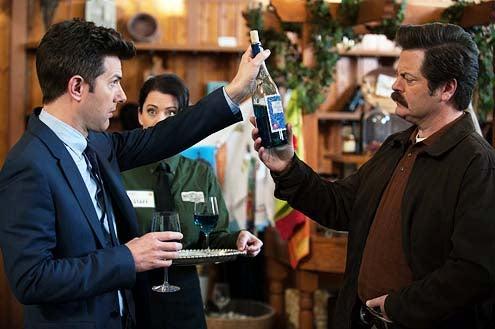 "Parks and Recreation - Season 6 - ""Flu Season 2"" - Adam Scott and Nick Offerman"