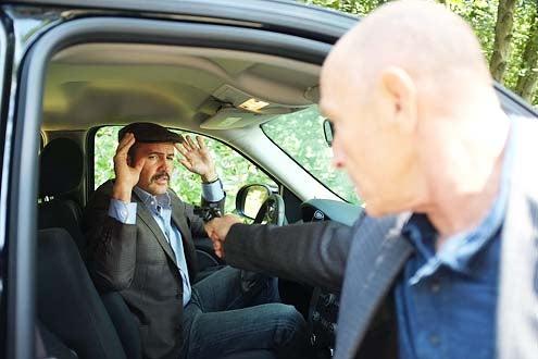 "Psych - Season 8 - ""The Break-Up"" - Billy Zane and Corbin Bernsen"