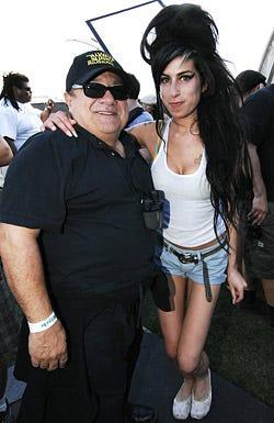 Danny DeVito and Amy Winehouse - The 2007 Coachella Valley Music and Arts Festival, April 27, 2007