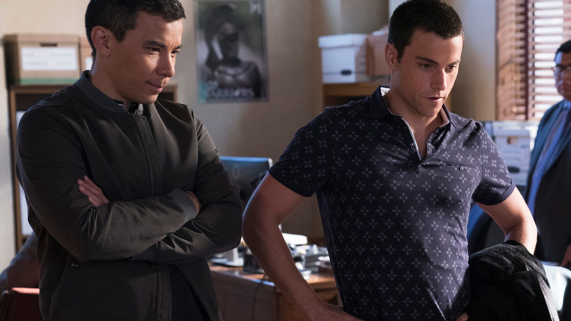 Conrad Ricamora and Jack Falahee, How to Get Away with Murder