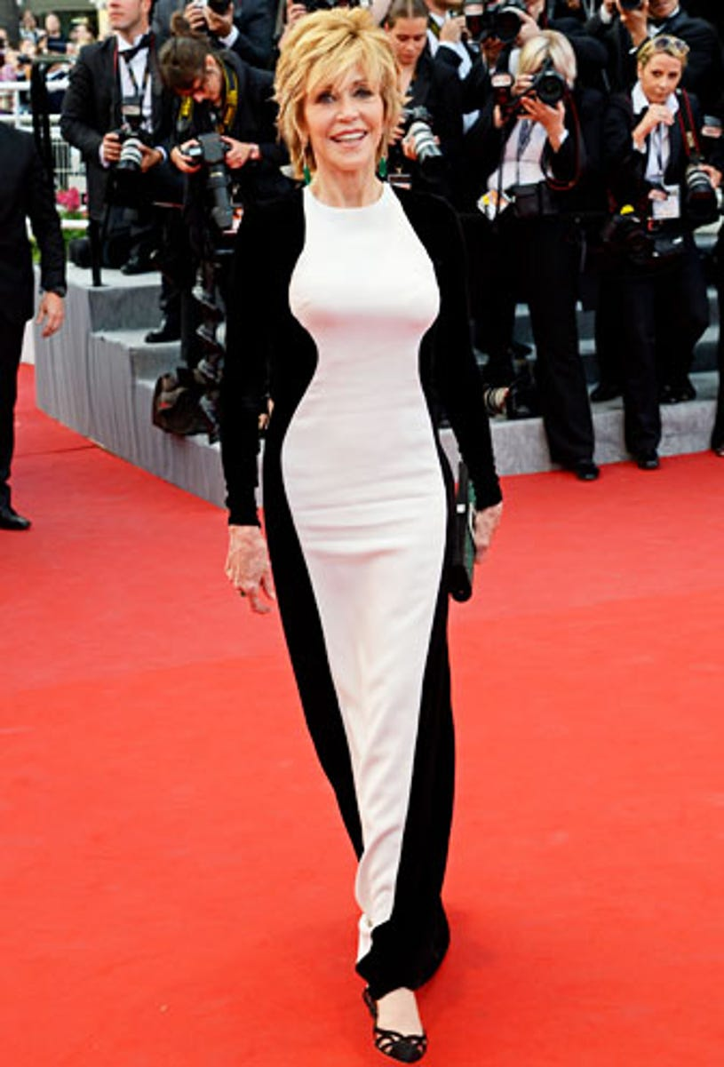 """Jane Fonda - The """"De Rouille et D'os"""" premiere during the 65th Annual Cannes Film Festival in France, May 17, 2012"""