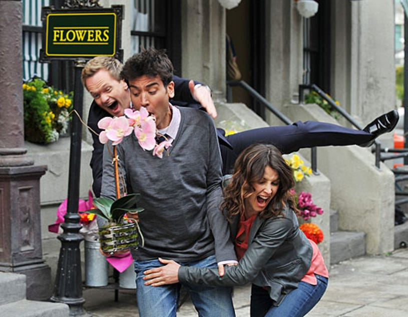 """How I Met Your Mother - Season 6 - """"Challenge Accepted"""" - Cobie Smulders, Neil Patrick Harris, Josh Radnor"""