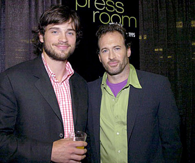 Tom Welling and Scott Patterson - WB Primetime Upfront, May 18, 2004