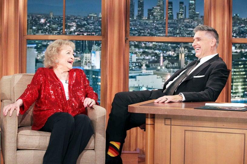 The Late Late Show with Craig Ferguson - Betty White and Craig Ferguson