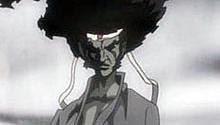Samuel L. Jackson and Lucy Liu In Afro Samurai Movie