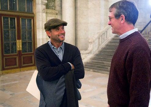 "Who Do You Think You Are - Season 2 - ""Tim McGraw"" - Tim McGraw and Professor Philip Otterness, Palatine Historian"