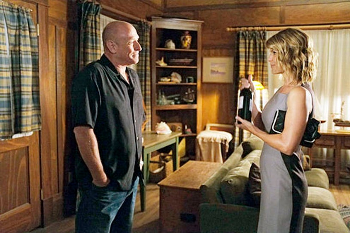 "Psych - Season 7 - ""Nip and Suck It"" - Corbin Bernsen and Lori Loughlin"