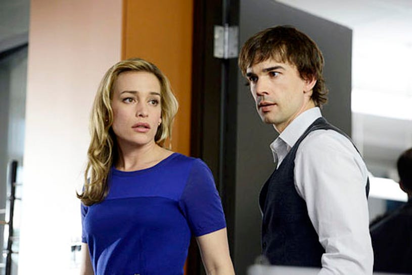 """Covert Affairs - Season 4 - """"Rock A My Soul"""" - Piper Perabo and Christopher Gorham"""