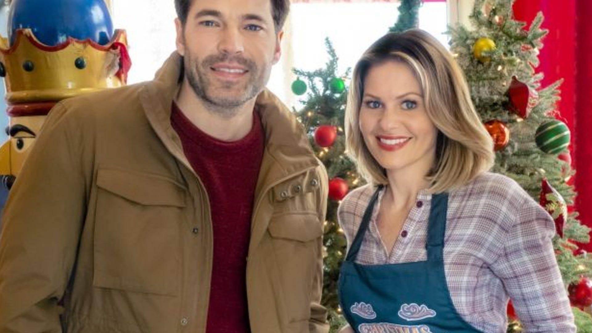 Tim Rozon and Candace Cameron Bure, Christmas Town