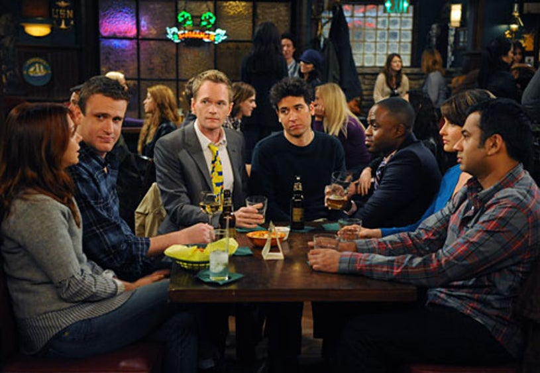 "How I Met Your Mother - Season 7 - Noretta"" - Alyson Hannigan, Jason Segel, Neil Patrick Harris, Josh Radnor, Wayne Brady, Cobie Smulders, Kal Penn"