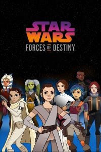 Star Wars: Forces of Destiny as Jyn Erso