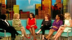 VIDEO: Star Jones Returns to The View, Faces Questions About Controversial Exit, Weight Loss