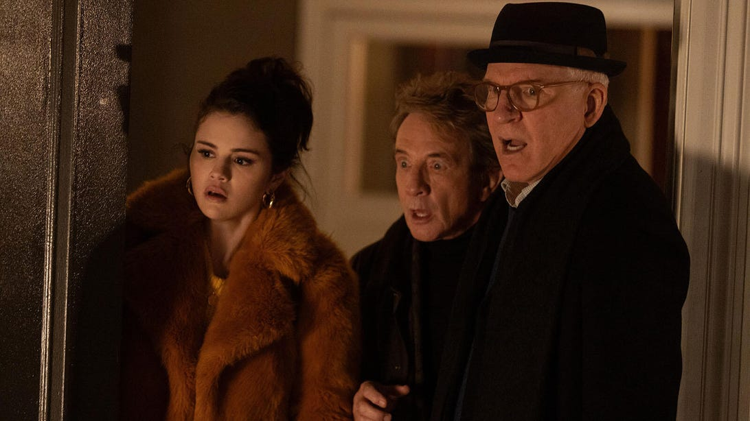 Selena Gomez, Martin Short, and Steve Martin, Only Murders in the Building