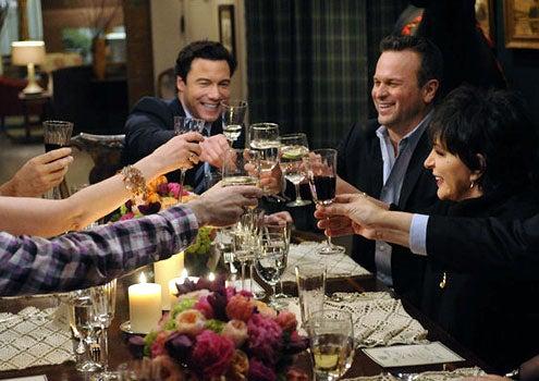 """Rocco's Dinner Party - Season 1 - """"Liza with a 'B!'"""" - Rocco DiSpirito, Sam Harris and Liza Minnelli"""