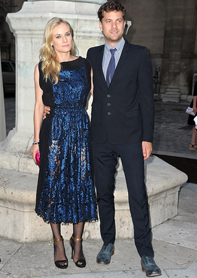 Diane Kruger and Joshua Jackson - The Jaeger-Lecoultre Reverso 80th Anniversary in France, June 28, 2011