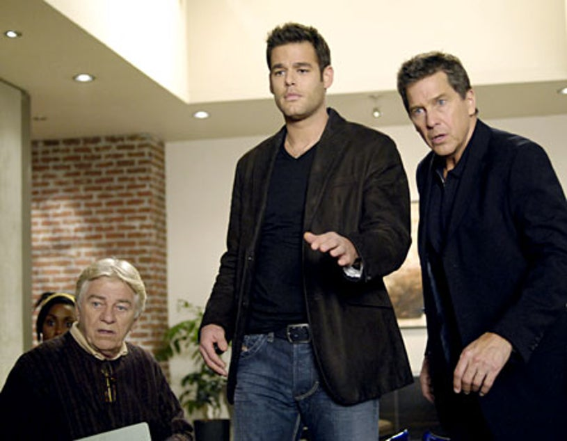 To Love and Die - Seymour Cassel, Ivan Sergei as Blue, Tim Matheson as James