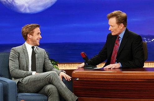 Conan - Ryan Gosling and Conan O'Brien