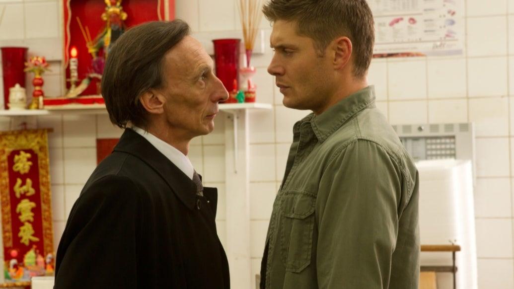Julian Richings and Jensen Ackles, Supernatural