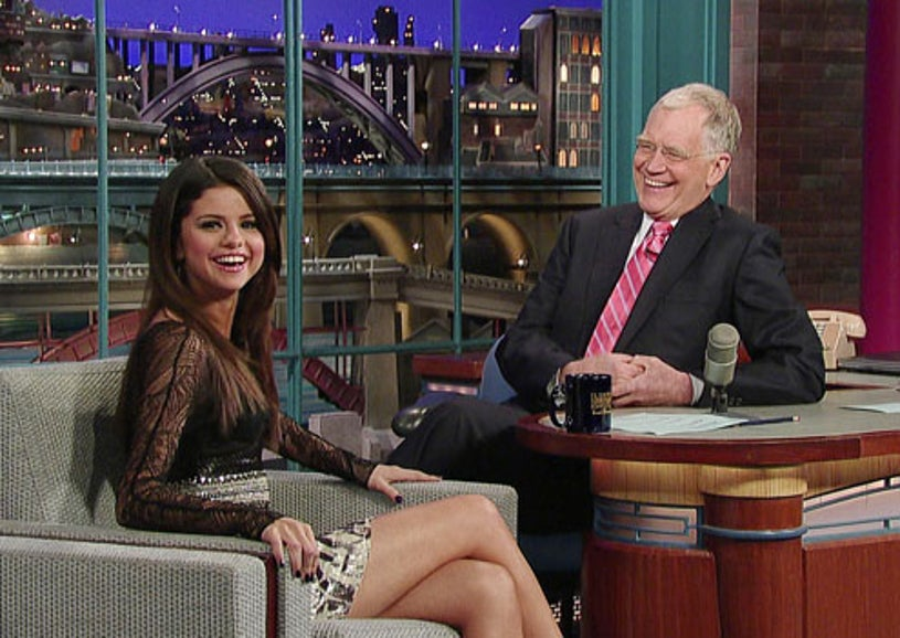Late Show with David Letterman - Selena Gomez, David Letterman - March 16, 2011