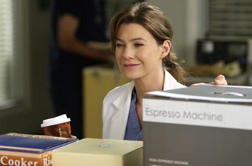 "Grey's Anatomy - Season 4 - ""Love/Addiction"" - Ellen Pompeo"