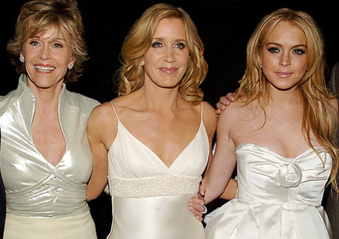 "Jane Fonda, Felicity Huffman and Lindsay Lohan - The ""Georgia Rule"" New York City Premiere, May 8, 2007"