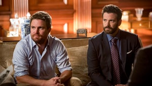 Two Very Familiar Faces Appear in Arrow's Season 8 Premiere Photos