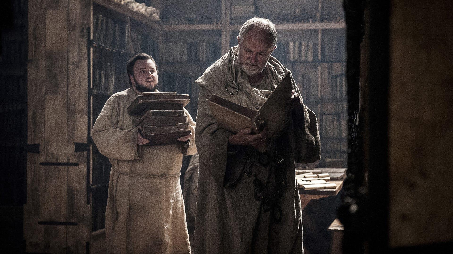 John Bradley and Jim Broadbent, Game of Thrones