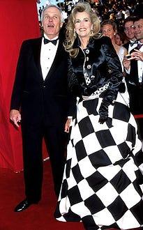 Jane Fonda & Ted Turner - The 67th Annual Academy Awards - 1995