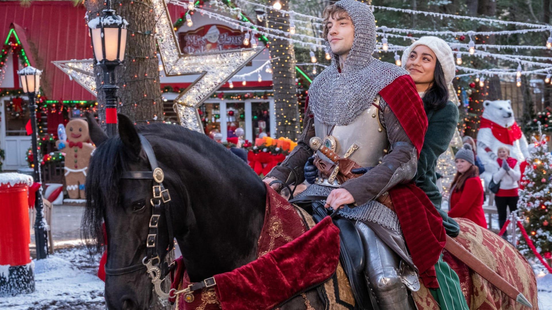Josh Whitehouse and Vanessa Hudgens, The Knight Before Christmas