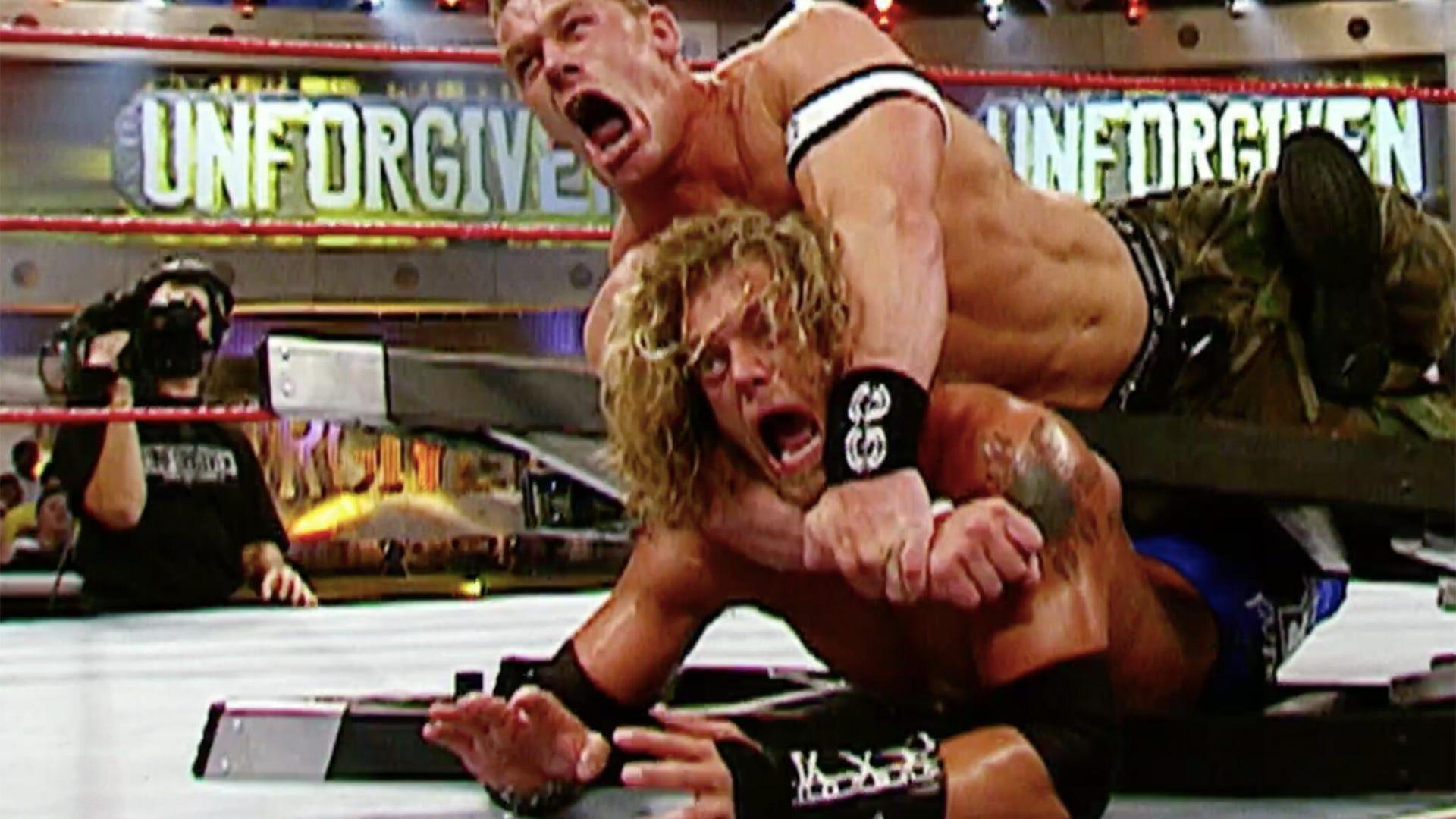 John Cena and Edge, Unforgiven