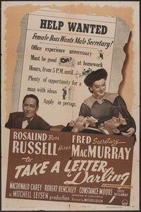 Take a Letter, Darling as Secretary