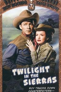 Twilight in the Sierras as Matt Brunner
