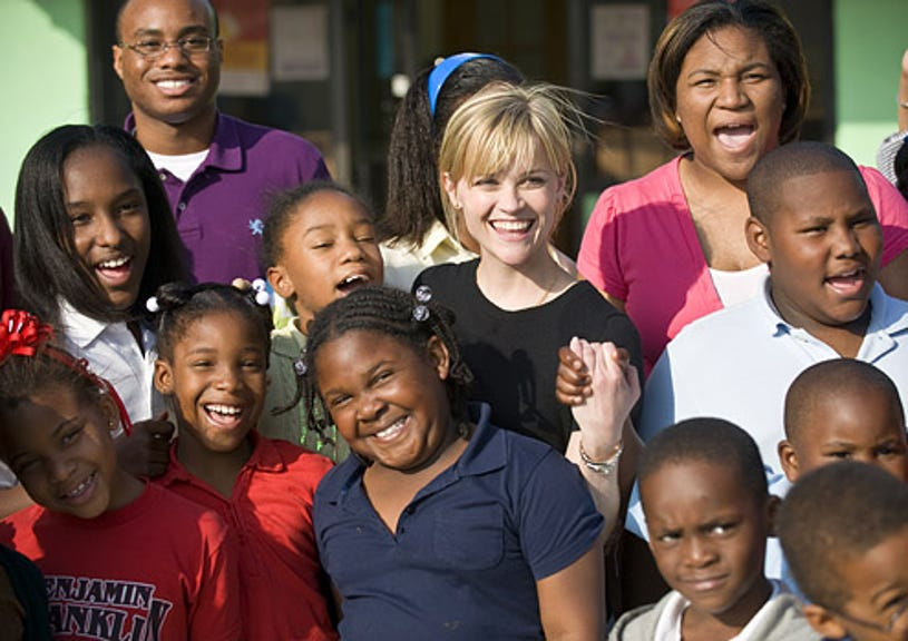 American Idol Gives Back - Reese Witherspoon visits a New Orleans CDF Freedom School where at-risk children learn to become community leaders.