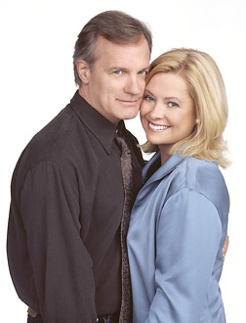 """7th Heaven - Stephen Collins as """"Rev. Eric Camden"""" and Catherine Hicks as """"Annie Camden"""""""