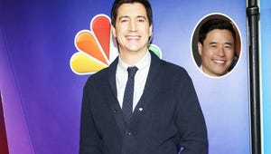 It's a Wet Hot Reunion! Ken Marino Visits Fresh Off the Boat to Make Louis Famous