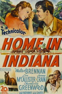 Home in Indiana as J. F. 'Thunder' Bolt