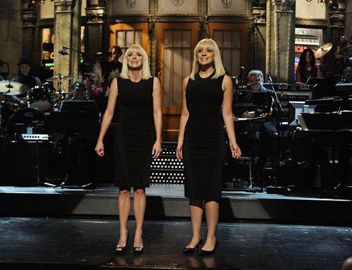 "Saturday Night Live - Season 37 - ""Anna Faris"" - Anna Faris and Abby Elliot"