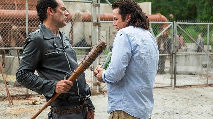 Jeffrey Dean Morgan and Josh McDermitt, The Walking Dead
