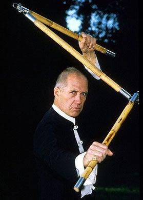 David Carradine - at home in Los Angeles, November 12, 1985