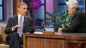VIDEO: Obama Tells Jay Leno About Lunching with Hillary Clinton and His Bromance with McCain