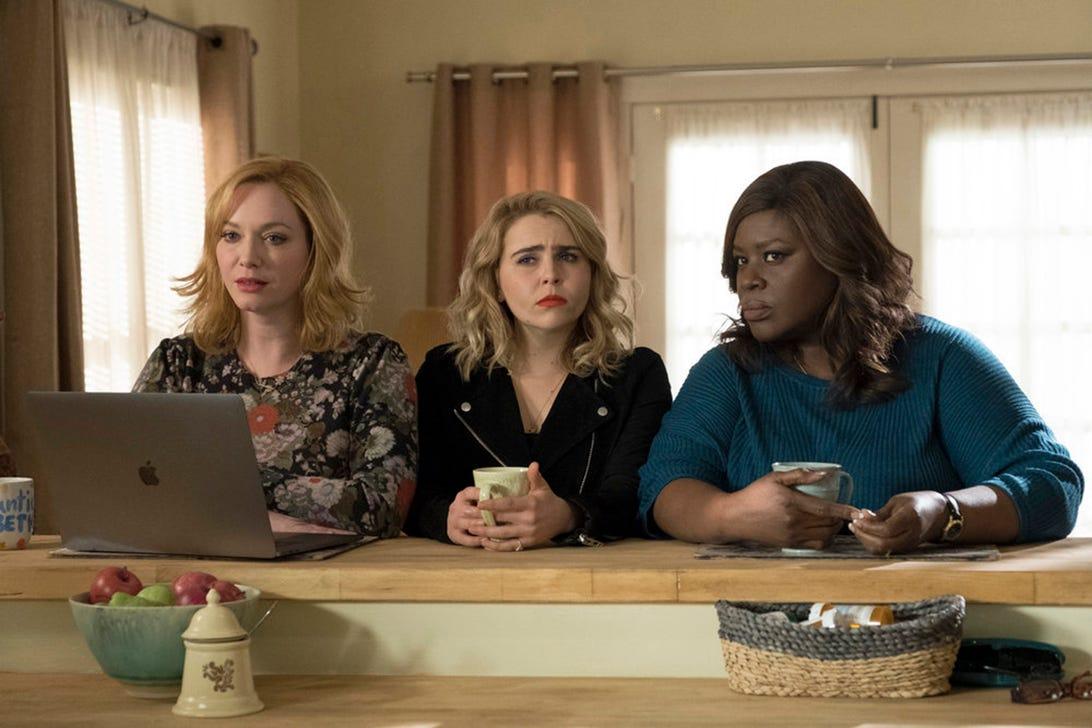 Christina Hendricks, Mae Whitman and Retta, Good Girls