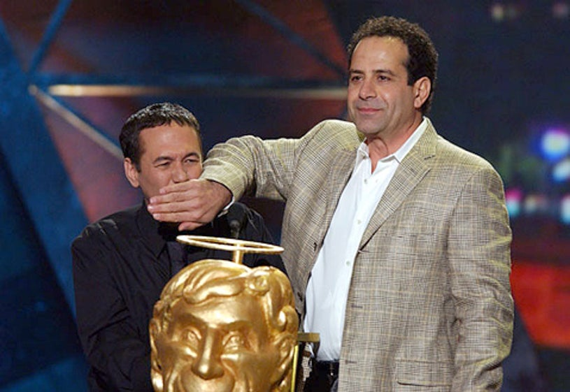 Gilbert Gottfried and Tony Shalhoub - Comedy Central's First Annual Commie Awards